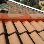 Waterproof tile roof